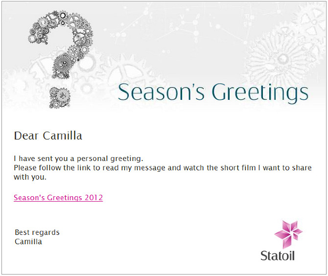 Seasons greetings 2012 camilla aspen email with link to digital greeting card m4hsunfo