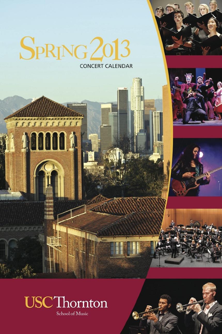 concert brochures